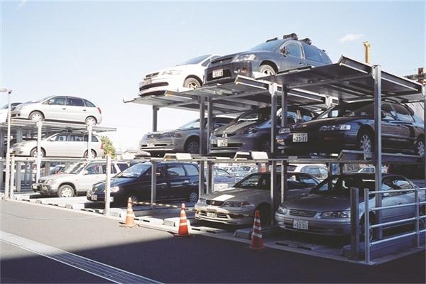 日本简易升降车库3