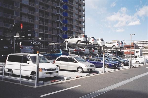 日本简易升降车库4